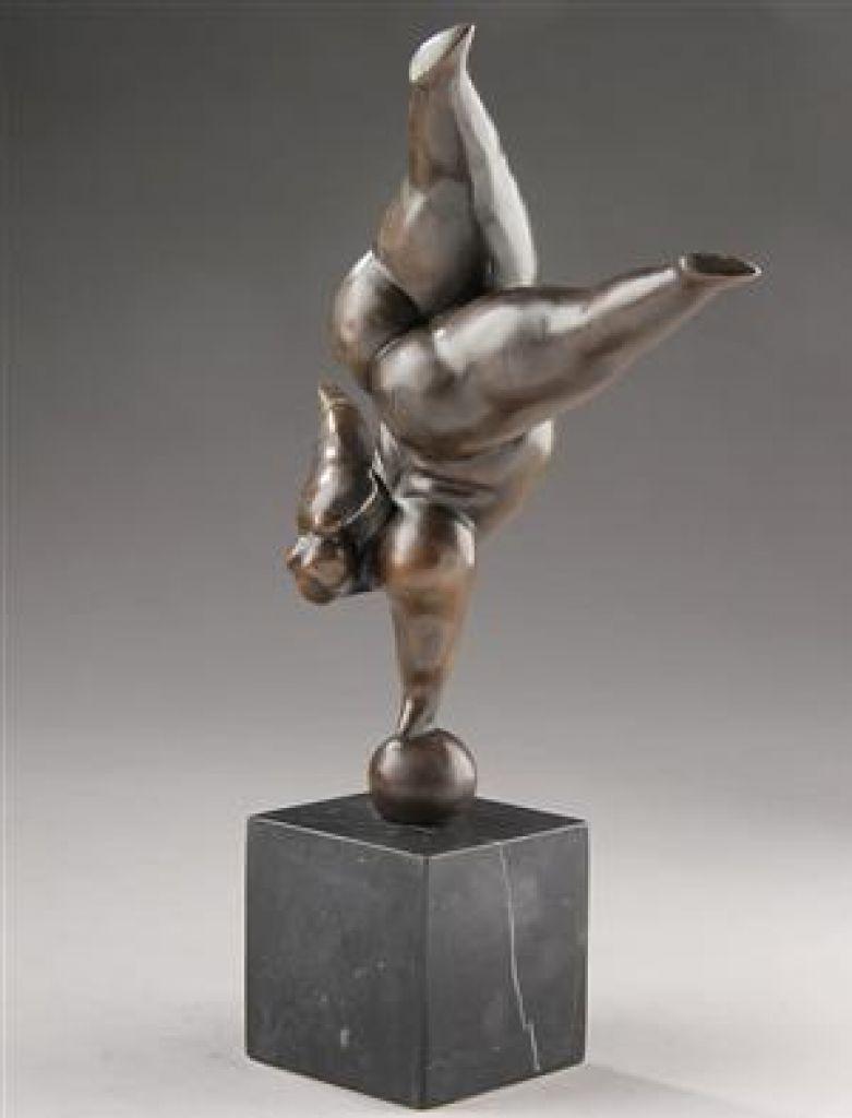 Gymnastik dame, buttet - LaChicq