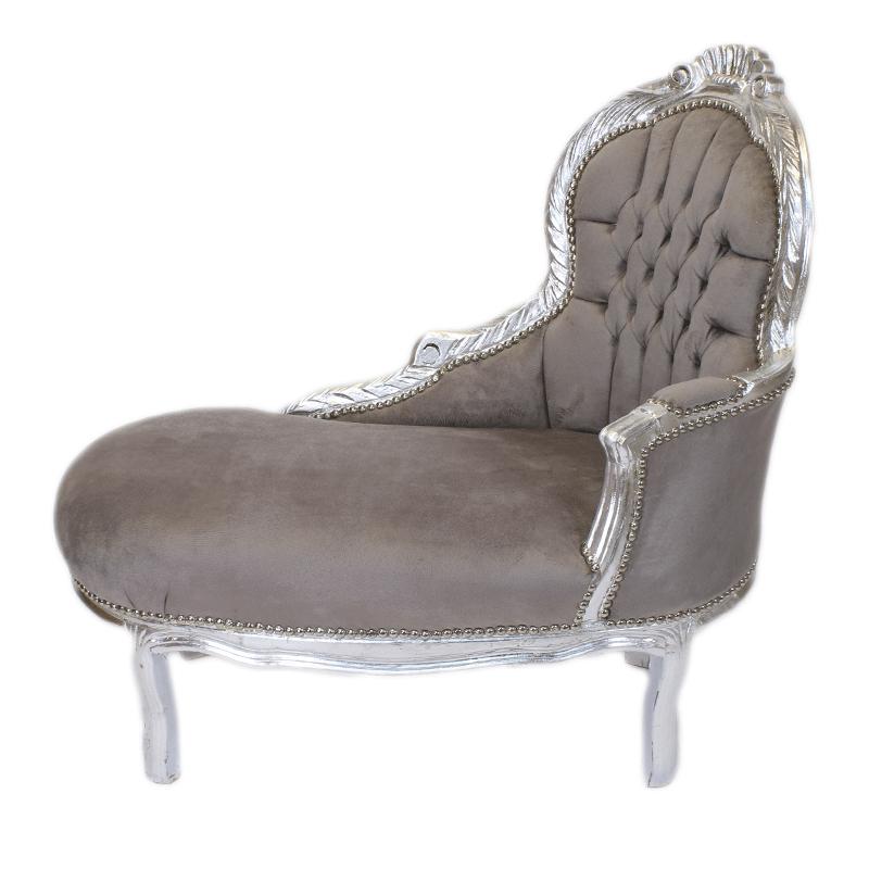 chaiselong rokoko mini lachicq. Black Bedroom Furniture Sets. Home Design Ideas